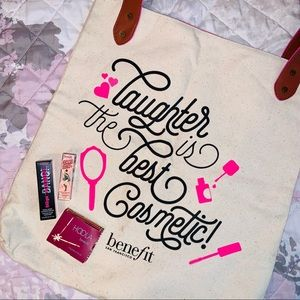 Benefit Bag & Makeup BUNDLE